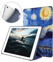 DTTO iPad 9.7 Case 2018 iPad 6th Generation Case/2017 iPad 5th Generation Case, Slim Fit Lightweight Smart Cover with Soft TPU Back Case for iPad 9.7 2018/2017 [Auto Sleep/Wake] - Starry Night