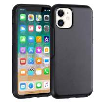 Co-Goldguard Slim Phone Case for iPhone 11 Shockproof Protective Cover Charging Cases Thin Lightweight Sleek Cell Phone Skin Fit for iPhone 11 6.1inch Black