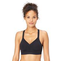Amazon Brand - Core 10 Women's Medium Support (A-H Cup) Cross Back Sports Bra