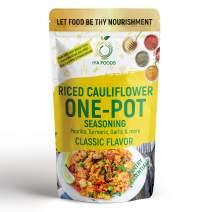 Iya Foods One-Pot Riced Cauliflower Seasoning 2 ounces, no Preservatives, No Added Color, No Additives, No MSG