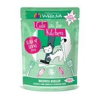 Weruva Cats in the Kitchen Slide N' Serve Grain-Free Natural Wet Pate Cat Food Pouches