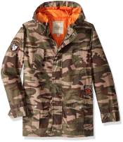 Lucky Brand Boys' Camouflage Utility Jacket