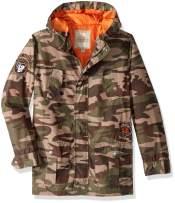 Lucky Brand Boys' Camouflage Utility Jacket