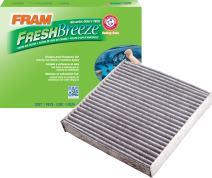 FRAM CF10549 Fresh Breeze Cabin Air Filter with Arm & Hammer