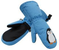 ANDORRA Kids Insulation Ski Mittens Boys Girls Snow Mittens Winter Gloves