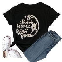 Women's Summer Baseball Shirt Short Sleeve Graphic Tops Tees Cute Love T Shirts Funny Blouse Vacation Tops