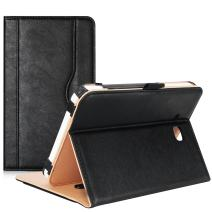 ProCase Galaxy Tab E Lite 7.0 Case/Tab 3 Lite 7 Case - Stand Folio Case Cover for Galaxy Tab E Lite 7-inch Tablet/Tab 3 Lite 7, with Multiple Viewing Angles, Document Card Pocket (Black)