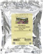 Starwest Botanicals Organic Turmeric Root Powder, 1 Pound Bulk (Pack of 2)