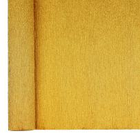 Just Artifacts Premium Metallic Crepe Paper Roll - 8ft Length/20in Width (Color: Gold)