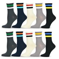 TeeHee Women's Value 10-pack Cotton Crew Socks