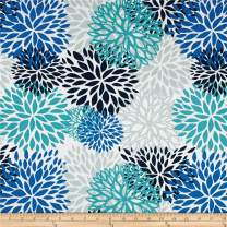 Premier Prints Indoor/Outdoor Blooms, Yard, Blue Vista