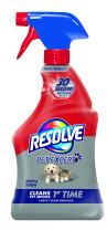 Resolve Pet Stain & Odor Carpet Cleaner, 22 oz (Pack of 6)