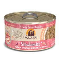 Weruva Classic Cat Stews! Grain-Free Natural Wet Cat Food Cans