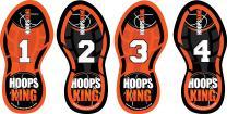 HoopsKing Basketball Footwork Training Steps, Improve Basketball Skills, Learn to Dance with Bonus DVD