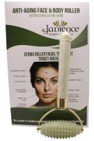 """Skin Massage Roller""""Jade Stone"""" for Face & Body: Facial Lines, Neck, Arms, Thighs, Feet 