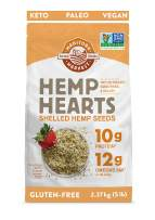 Manitoba Harvest Hemp Hearts Shelled Hemp Seeds, 5lb; 10g Plant-Based Protein & 12g Omegas per Serving, Whole 30 Approved, Vegan, Keto, Paleo, Non-GMO, Gluten Free