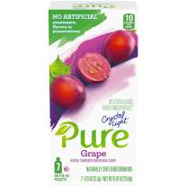 Crystal Light Pure Grape Drink Mix (84 On-the-Go Packets, 12 Packs of 7)