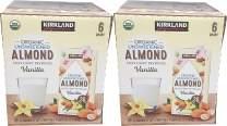 Kirkland Signature Organic Almond Unswtd Beverage, 192 fl. oz. Pack of 2