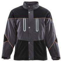 RefrigiWear Men's Water-Resistant Insulated PolarForce Jacket with Performance-Flex, -40°F Rated Winter Coat