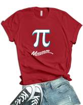 Pi Delicious Shirt Womens - Math Geek Teacher Funny T Shirts for Women