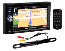 BOSS Audio Systems Elite BN965BLC Car GPS Navigation DVD Player - Double Din, Bluetooth Audio and Calling, 6.5 Inch LCD Touchscreen Monitor, MP3/CD/DVD/USB/SD, Aux-in, AM/FM Radio Receiver