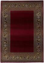 "Oriental Weavers Generations 2'3"" x 4'5"" Machine Woven Rug in Red"
