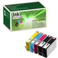 Limeink 5 Pk Remanufactured 564XL New Generation Ink Cartridges Set (1 Black 1 Photoblack 1 Cyan 1 Magenta 1 Yellow) for HP Photosmart 5520 5510 6520 6510 7510 7515 7520 7525 B8550 C5300 Printers