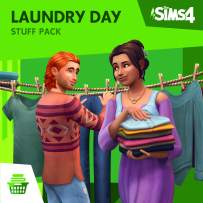 The Sims 4 - Laundry Day Stuff - [PS4 Digital Code]