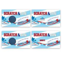 4th of July Scratch Off Family Holiday Game Card - 25 Pack - My Scratch Offs