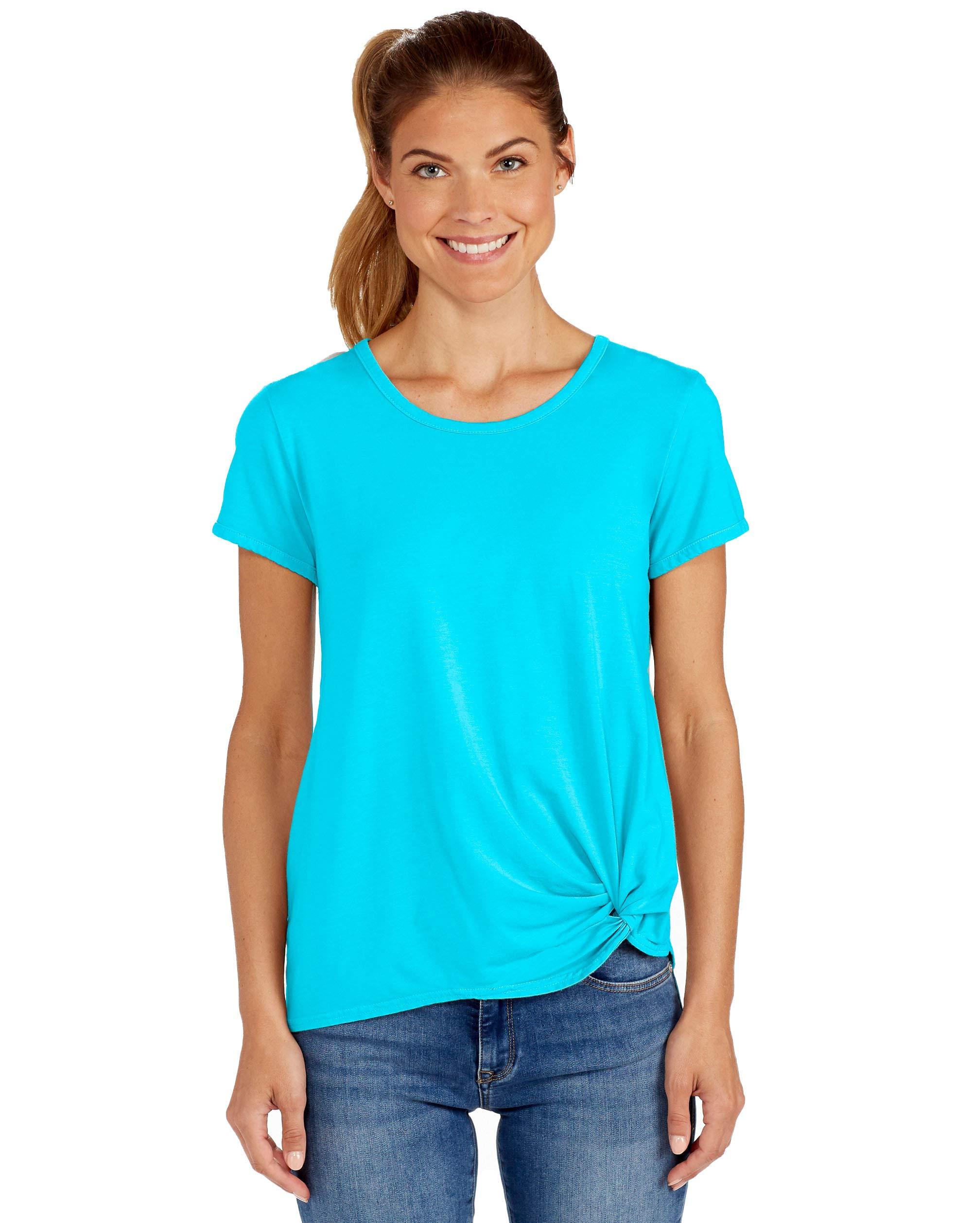 Fresh Produce Womens Comfortable Casual Summer Beach Crew Neck Noa T-Shirt
