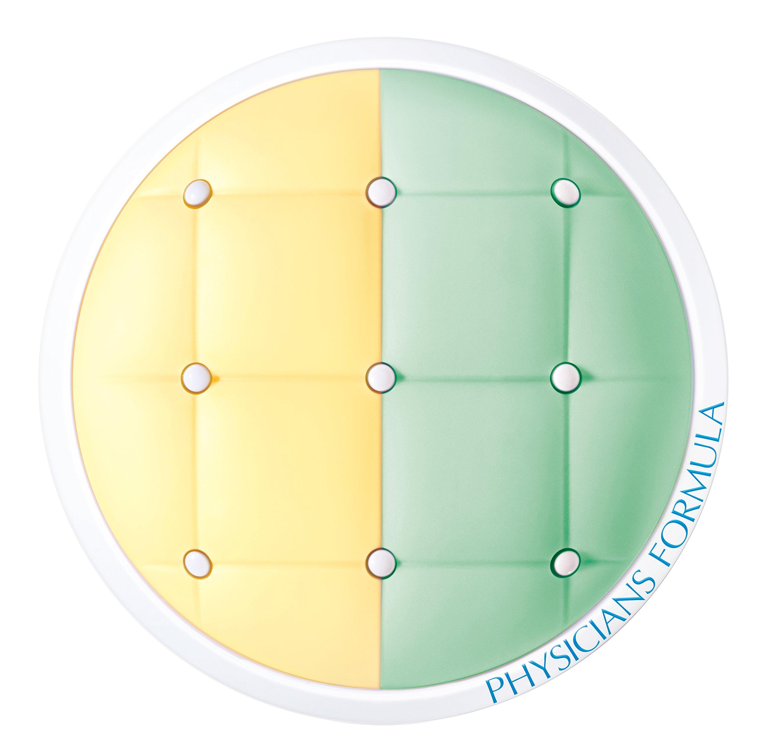 Physicians Formula Mineral Wear Cushion Corrector + Primer Duo, Yellow/Green, 0.33 Ounce