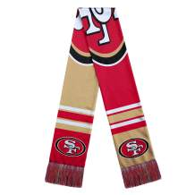 FOCO NFL Colorblock Big Lgo Scarf
