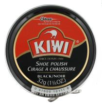 Kiwi Kiwi 10111 Shoe Paste Polish 1 - 1/8 Ounce,Black,Large (Pack of 6)