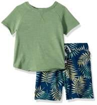 Splendid Boys' Kids and Baby Short Sleeve Tee Shirt and Bottom 2 Piece Set