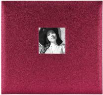 MCS MBI 13.5x12.5 Inch Red Wine Glitter Scrapbook Album with 12x12 Inch Pages with Photo Opening (860134)