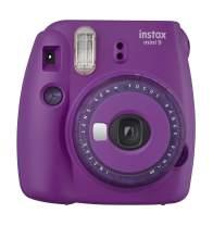 Fujifilm Mini 9 Instant Camera with Clear Accents (Purple)
