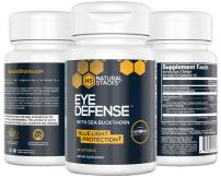 Natural Stacks: Eye Defense - Eye Health Supplement - 30 Day Supply - Soothing Lubrication - Reduces Eye Strain & Fatigue - Protect and Strengthen Vision - with Lutein, Zeaxanthin, Sea Buckthorn