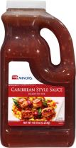 Minor's Caribbean Style Sauce, Marinade Perfect for Grilling, 4 lb 15 oz Bulk Bottle