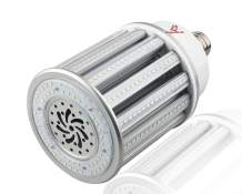 80 Watt LED Corn Light Bulb - 10,400 Lumens - 6KV Surge - Aries Series LED Corn Light Bulb - Mogul E39 Base - 4000K - Replacement for 250 watt HID/HPS/Metal Halide - High Efficiency - UL & DLC…