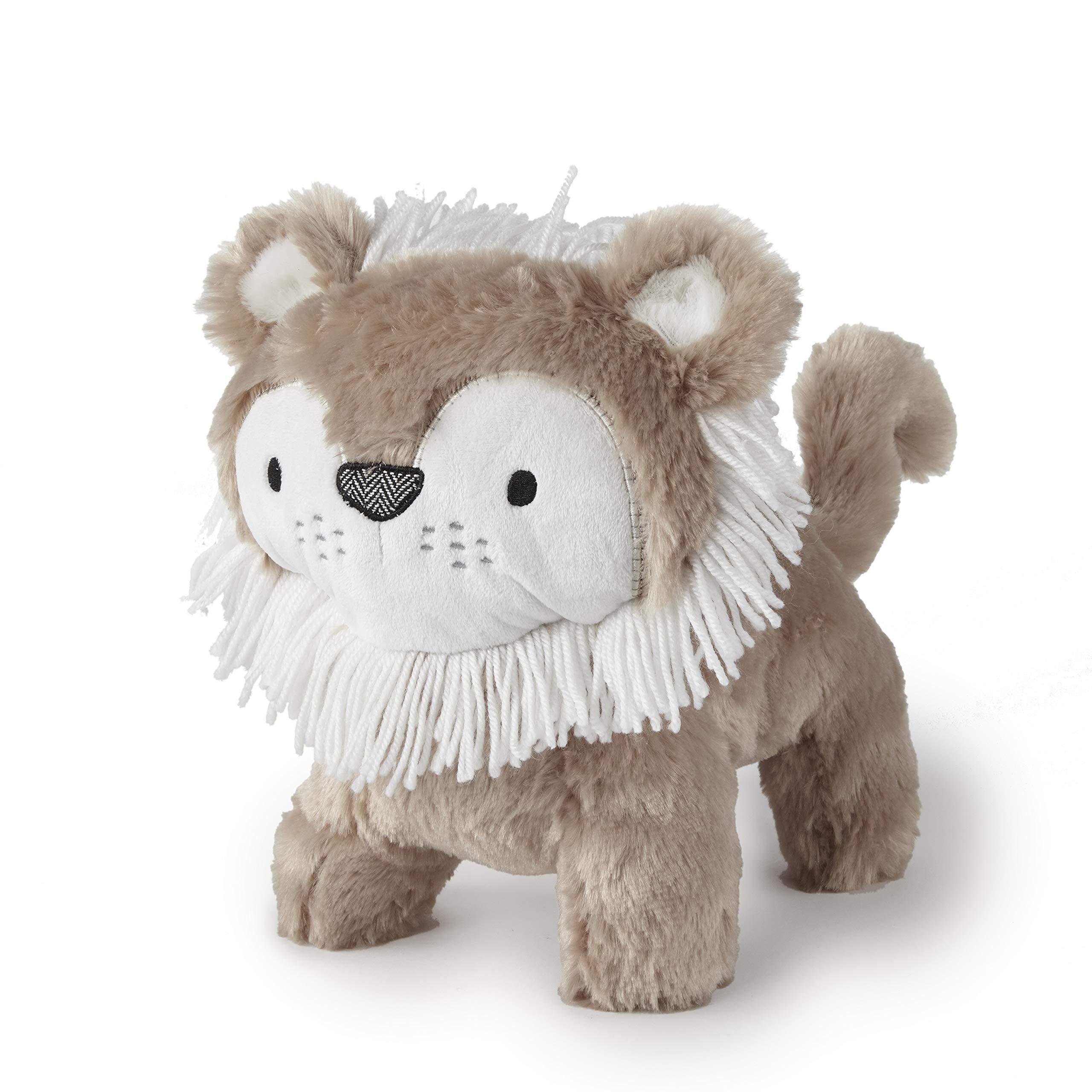 Levtex Baby Tanzania Lion Plush Toy, Tan/White