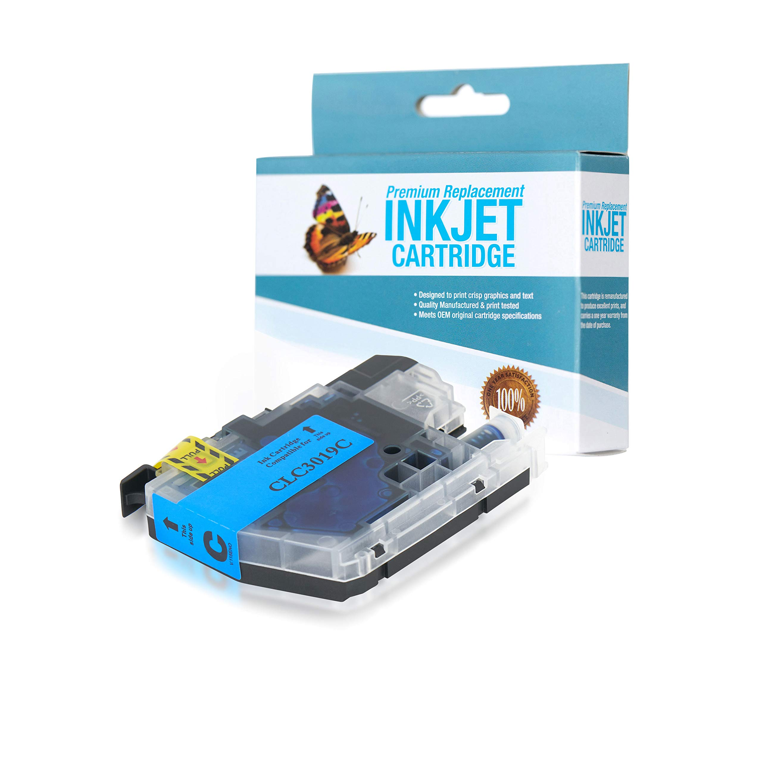 SuppliesOutlet Compatible Ink Cartridge Replacement for Brother LC3019 / LC3019C (Cyan,1 Pack)