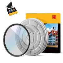 KODAK 46mm UV Filter | German Schott Glass Premium Ultraviolet Filter, Slim 18-Layer Polished Coating | Absorbs Atmospheric Haze Protects Lens & Improves Sharpness & Contrast, 99% Light Transmittance