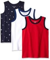 Amazon Essentials Boys' Sleeveless Tank Tops