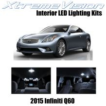 Xtremevision Interior LED for Infiniti Q60 2015+ (9 Pieces) Pure White Interior LED Kit + Installation Tool