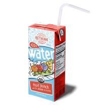 Rethink Kids Water Fruit Punch - Zero Sugar Kids Water -- Zero Calories & Zero Sugar, Certified Organic, BPA Free, Recyclable (Pack of 32)