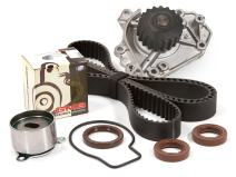 Evergreen TBK184WPT Compatible With Timing Belt Kit, and Water Pump: 96-01 Honda Acura B18B1 B20B4 B20Z2