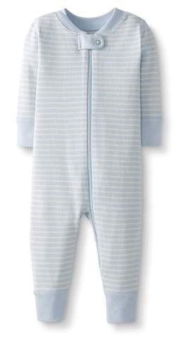 Hanna Andersson Baby//Toddler One-Piece Organic Cotton Footless Pajamas