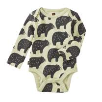 Tea Collection Bodysuit Three-Pack, Cuddly Cubs, Multiple