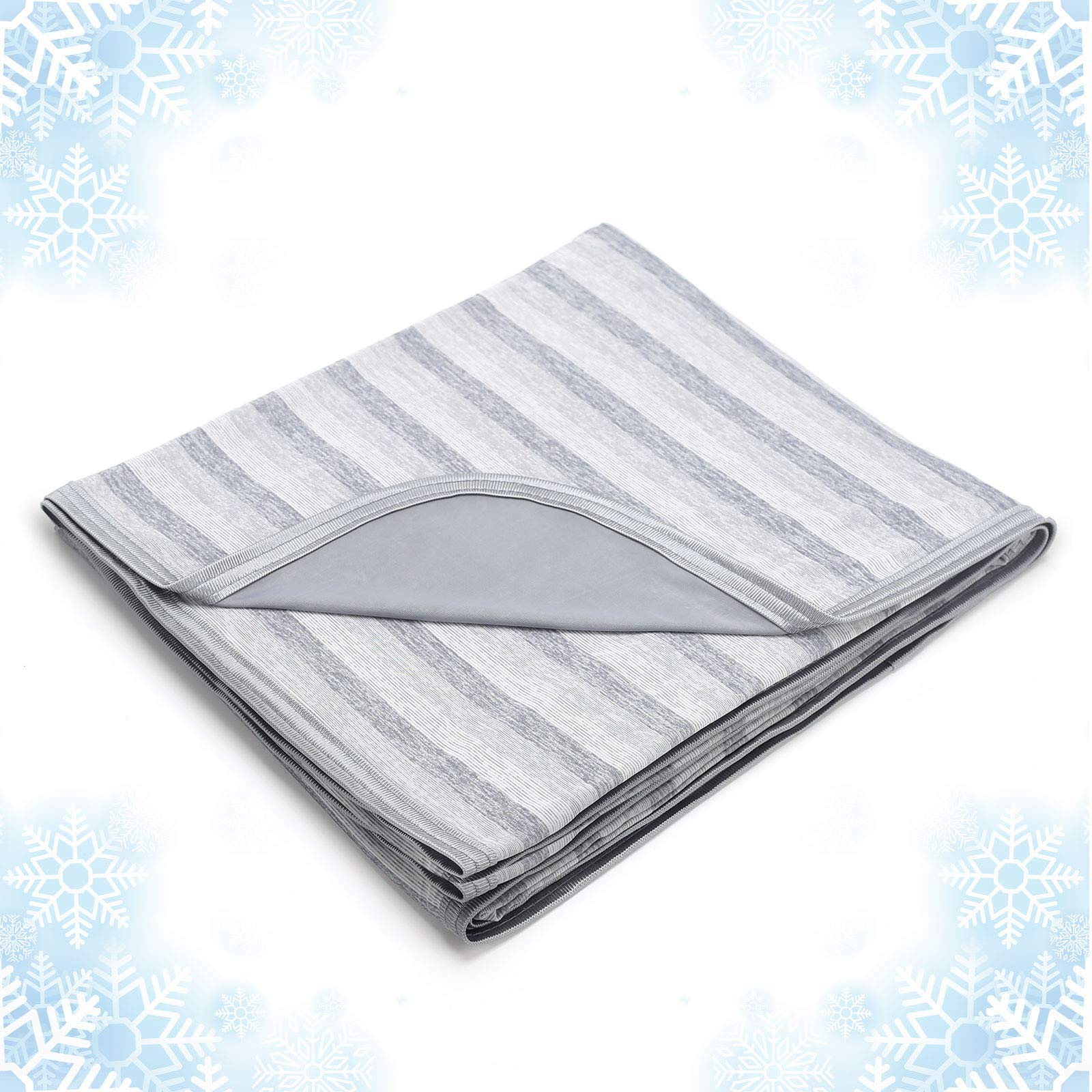 Cooling Blanket with Double Sided Cold, King Size Big Oversize Luxury Lightweight Breathable Bed Blankets, Transfer Heat to Keep Adults, Children Cool for Hot Sleepers Night Sweats, with Travel Bag