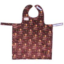 Bib-On, Full-Coverage Bib and Apron Combination for Infant, Baby, Toddler Ages 0-4. (Cupcakes)